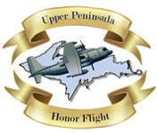 Upper Peninsula Honor Flight Logo