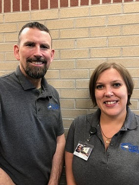 Delta County Airport Management Team: Jeffery Sierpien and Andrea Micheau